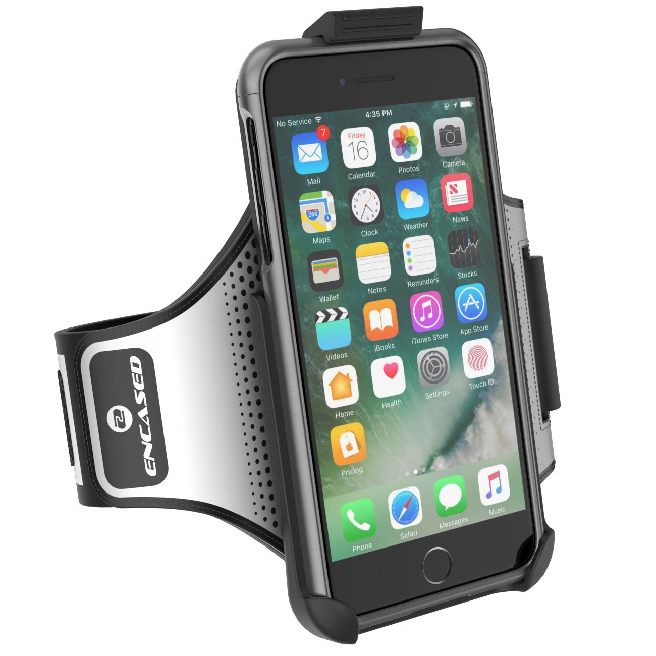 Details about iPhone 7 Plus Armband Gym Kit, Workout Armband + Sport Case  (2 pc set)
